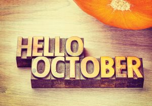 Welcome October!